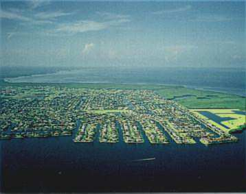 Punta Gorda has 108 miles of salt water access canals.